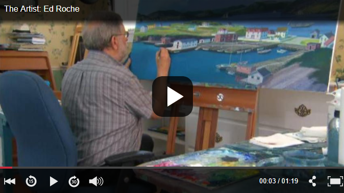 Newfoundland Artist Ed Roche on painting abandoned outports