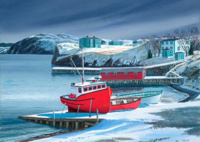 Collins Cove Winter